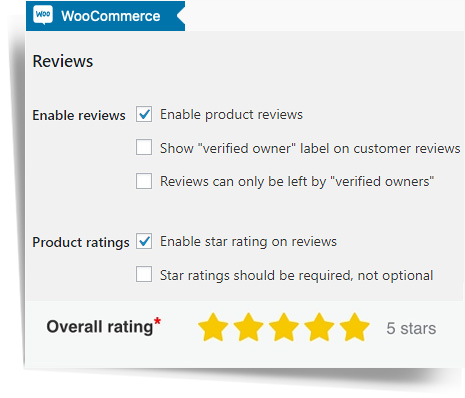 PRODUCT RATINGS AND REVIEWS